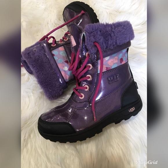 3812524f2f7 Girls Ugg snow boots